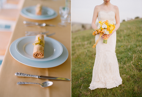 a country wedding elizabeth messina